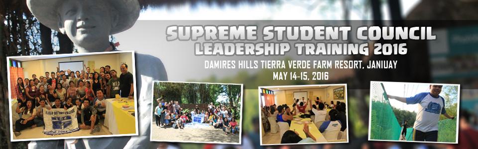Summer SSC Leadership Training 2016