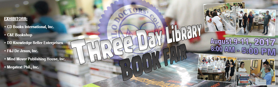 3 Day Book Fair