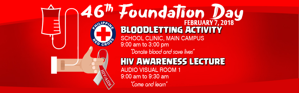2018 Bloodletting Foundation Day